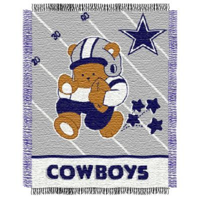 NFL Dallas Cowboys Woven Jacquard Baby Blanket/Throw – buybuyBaby.com