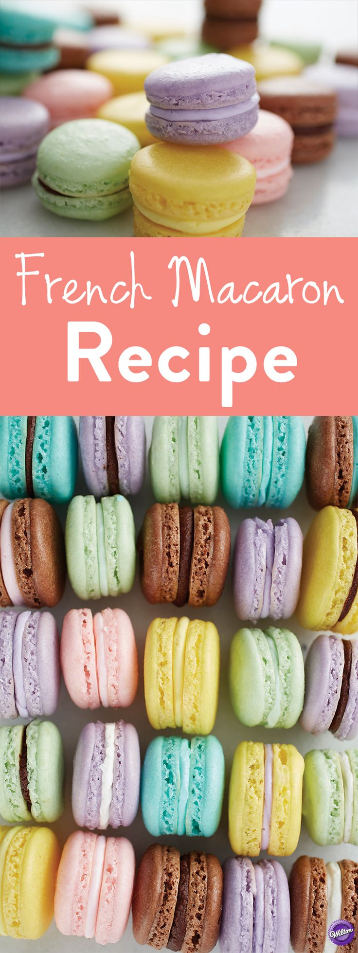 French Macaron Recipe - Impress friends and family by making your own batch of French Macarons. Great for wedding and party favors or for giving as gifts, French macarons are delicate and delicious. Mix and match colors and flavors to create treats to best suit the occasion.