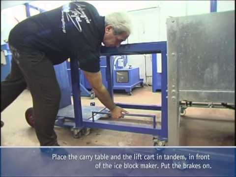The CCIBPS is designed and built by Ice Gallery and it is a unique fully automatic production system for standard size crystal clear ice blocks. http://www.iceblockmaker.biz/iceblockmachine/