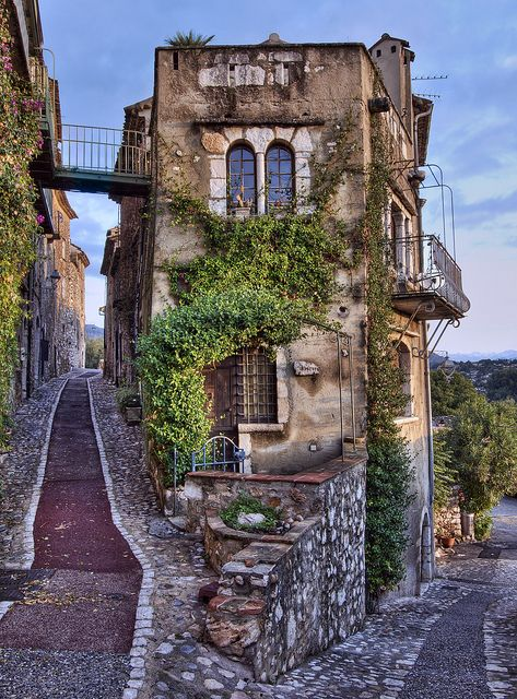 Medieval house in France