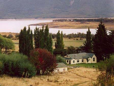 Nibepo Aike Estancia. Se encuentra dentro del Parque Nacional Los Glaciares Patagonia- Argentina