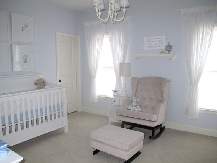 Baby Boy Nursery With Things To Make For Baby Boy Room.