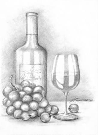 resultado de imagem para easy still life drawings in pencil gfh in