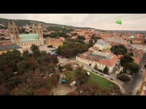 Magyarország madártávlatból - Pécs és Baranya megye - YouTube