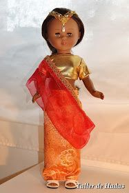 Muñeca / doll Nancy Hindu