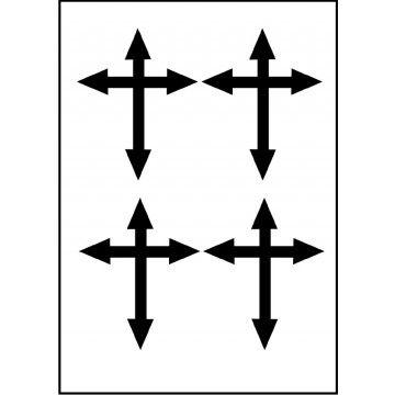 tatouage croix Eva Longoria