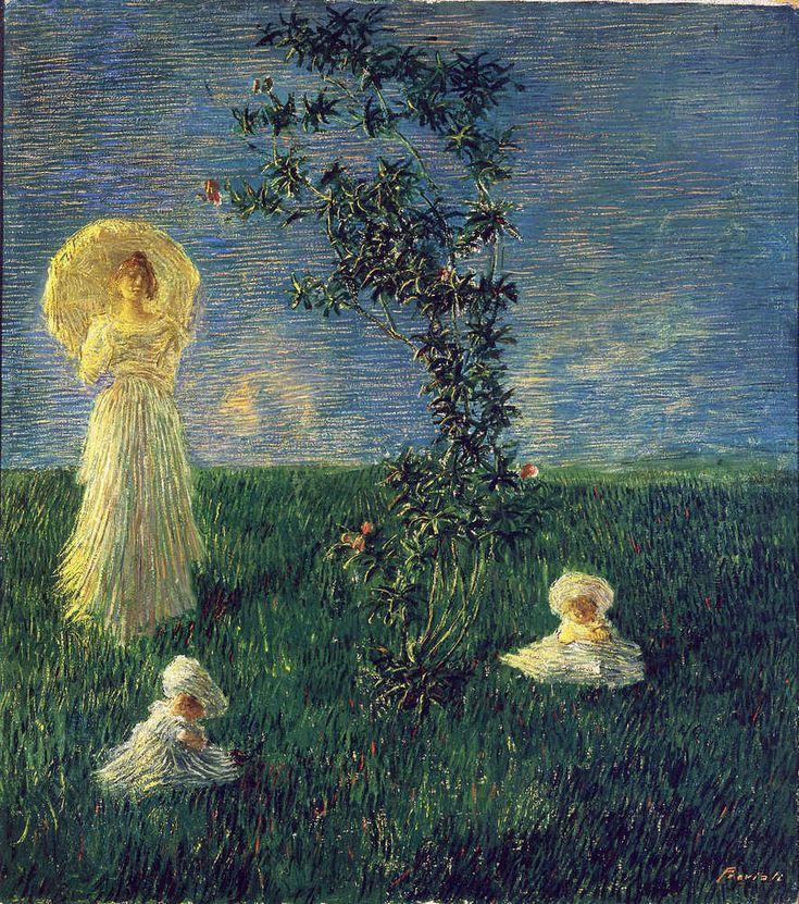 The Athenaeum - In the Meadow (Gaetano Previati - )