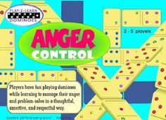 anger control dominoes