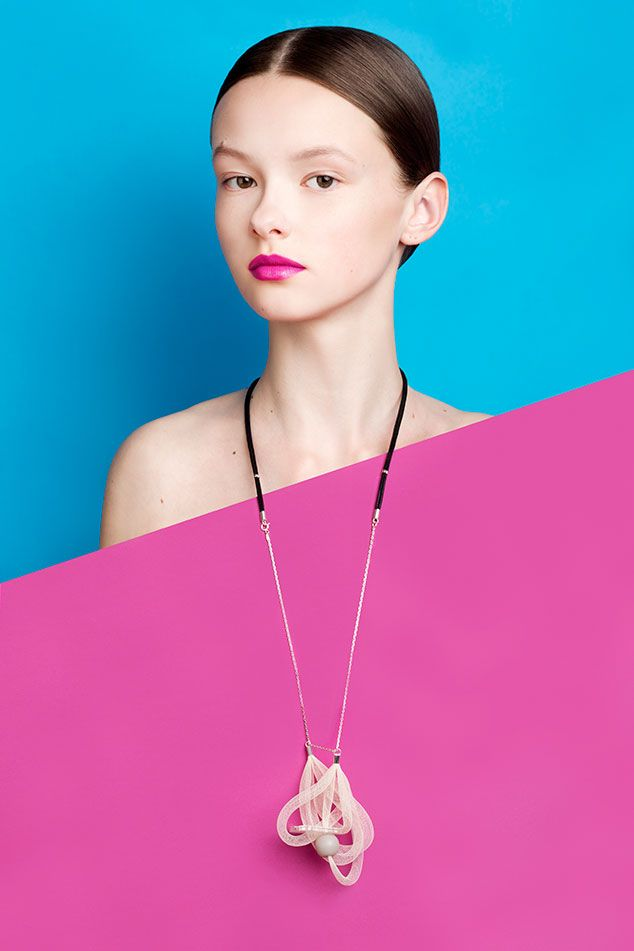 Ad campaign for Rasa Accessories SS15 collection. Photography byALEKSANDRA KINGO