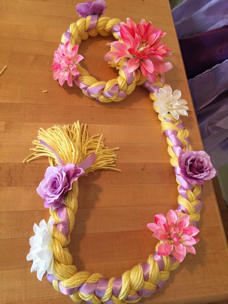 A personal favorite from my Etsy shop https://www.etsy.com/listing/482812053/tangled-rapunzel-hair-yarn-braid