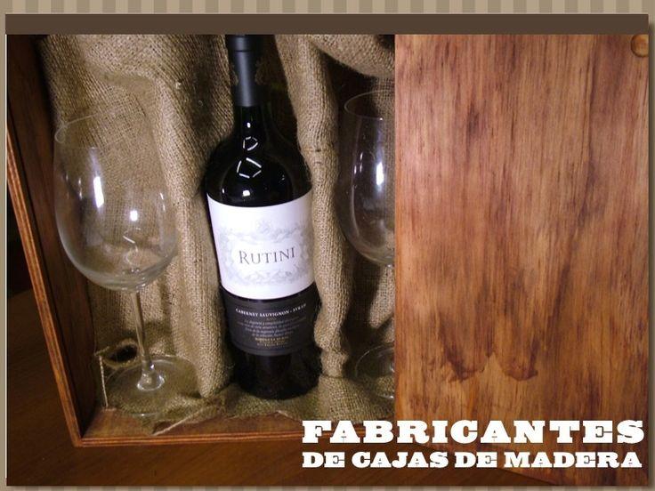 cajas de madera para vino botellas somos fabricates