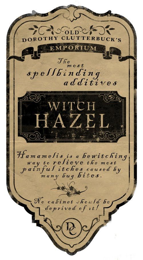 Creep Softly Studios: Printable Potion Bottle Labels AWESOME!