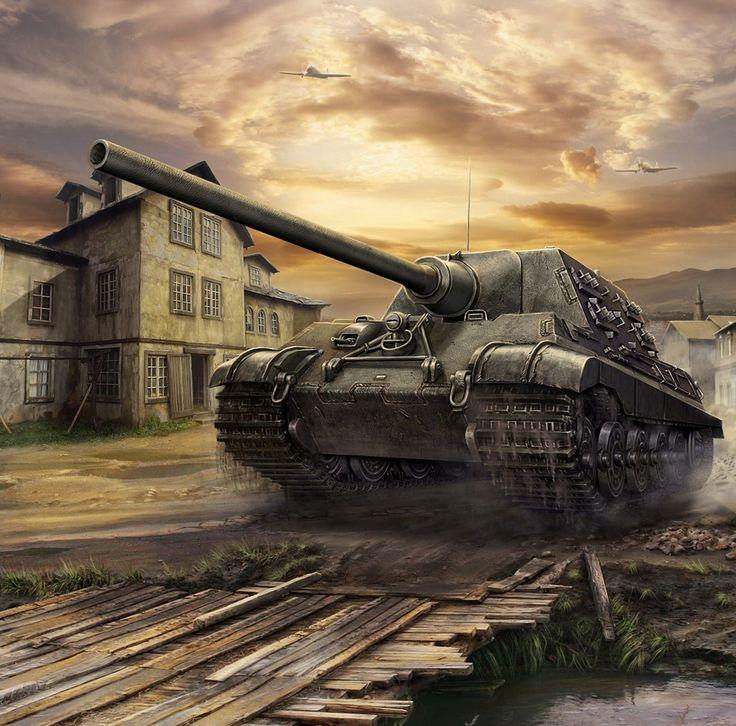 Tanks World of Tanks Generals Jagdtiger Games