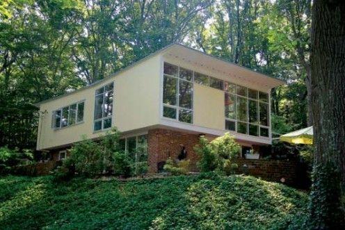 Charles Goodman home. Alexandria, Virginia