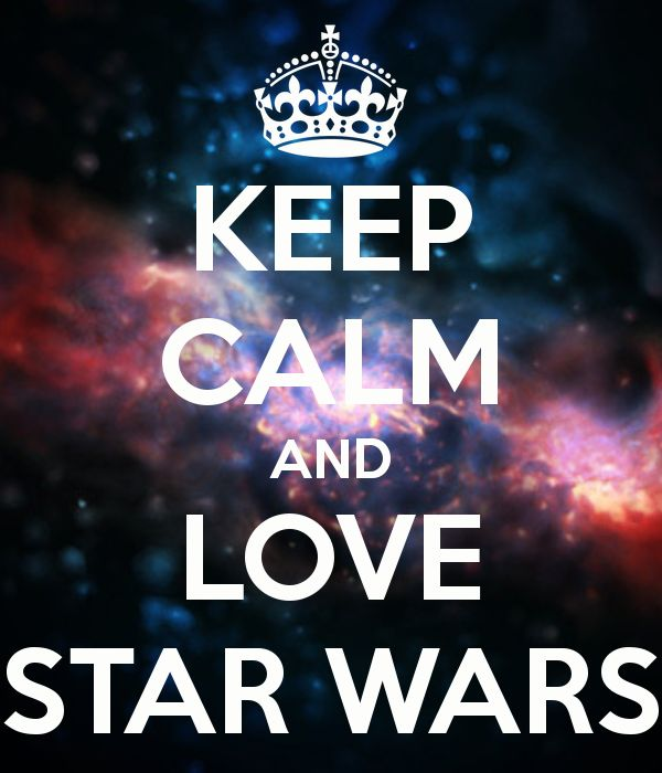 Oh yeah! I'm totally a Star Wars lover!!!!! Watchin' it right now!!!! <3