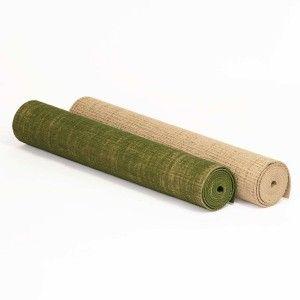 Tapis de Yoga TOILE DE JUTE (183cm x 60cm x 4mm)