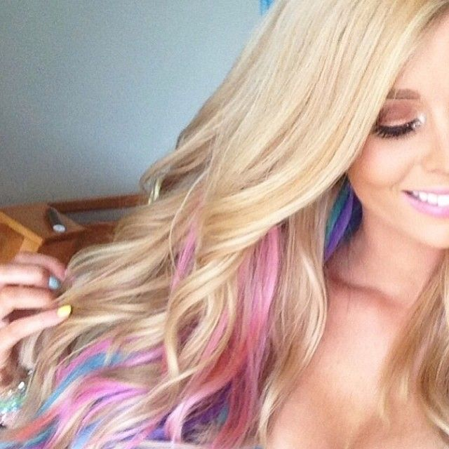 Fun and bright highlights