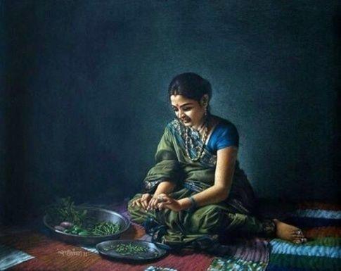 Realistic art shashikant dhotre