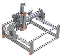 CNC Formosa 500 - SOLIDWORKS,STL,AutoCAD - 3D CAD model - GrabCAD