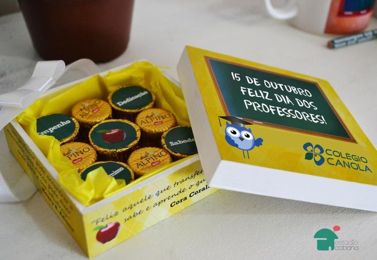 Caixa de Chocolate personalizado para brinde corporativo | Estúdio Cabana