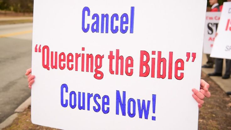 """Protest """"Queering the Bible"""" Course at Swarthmore College"""