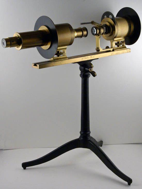 Projector polariscope, F. Pellin, Paris