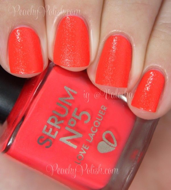 Serum No. 5: Spring/Summer 2014 Collection Part 2 Swatches and Review