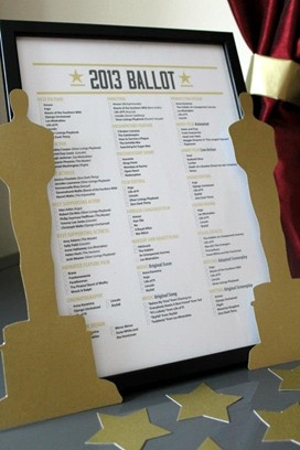 Oscars Ballot - Love the Poll at work -Hate to lose to someone who never watches :(