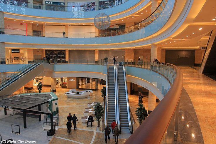 Афимолл Сити, Mall of Russia, Центральное Ядро | О здании