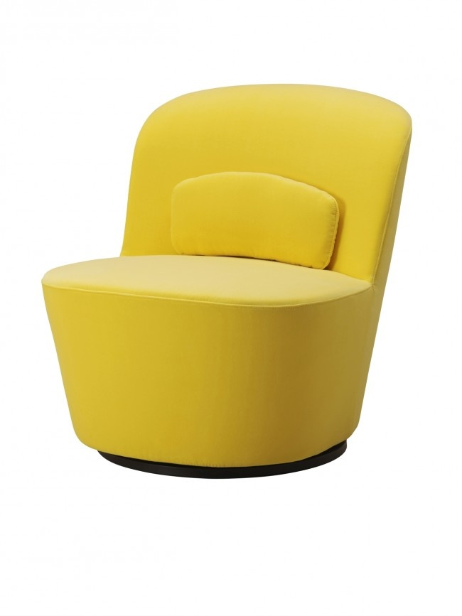 Ikea Stockholm Swivel Chair Yellow Aphrochic We Wish Sofa Furniture Home