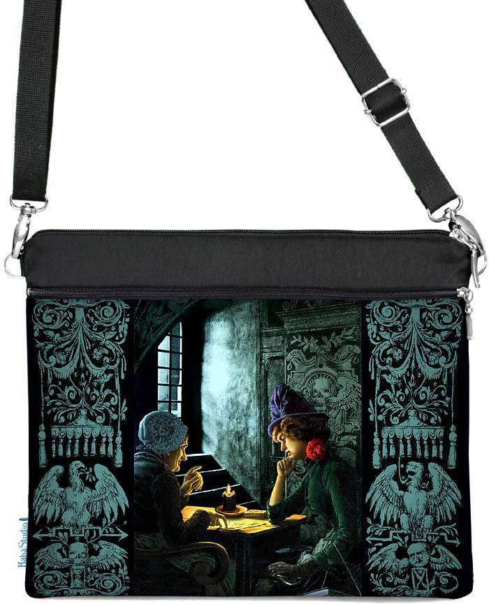 Bohemian Gothic Tarot Reader, iPad/tablet bag, black version   Baba Store