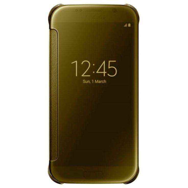 Samsung Galaxy S6 Clear View Flip Veske EF-ZG920BF - Gull