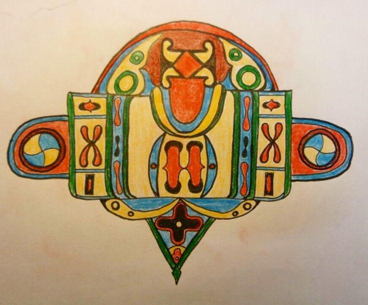 Drawing is so relaxing... Global #pattern research -  Africa no. 2 . . . #textileart #colorgasm #fineart #art #eatenkate #studiolife #contemporarycraft #sweden #konsthantverk #sketch #ink #penandink #pen #ornament #geometry #doodle #doodles #skiss #kunst #konst #taide #schets #artist #kunstenaar #sverige #svenskkonst #africa #drawing #illustration