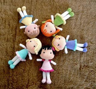 Muñecas BB Amigurumi ~ Patrón Gratis en Castellano