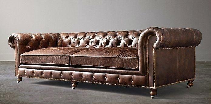 Chesterfield Sofa Restoration Hardware Restoration Hardware Sofa