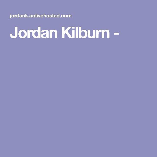 Jordan Kilburn -