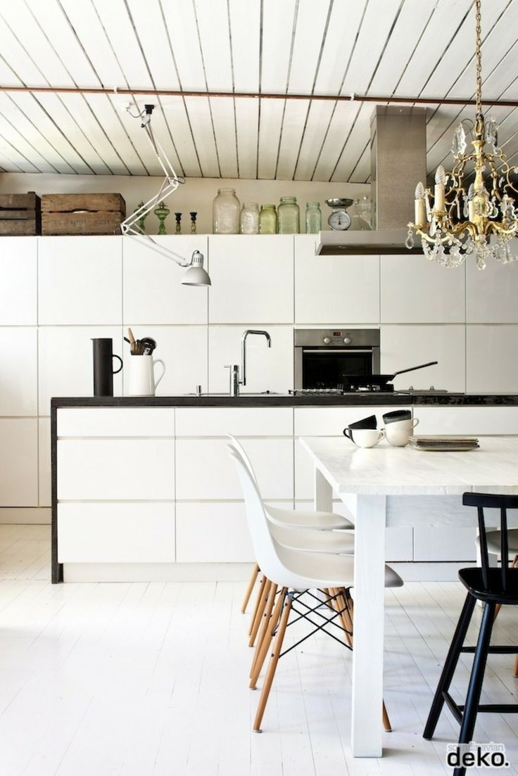 Modern Rustic Scandinavian Kitchen Decor Home Inspirations Pinter
