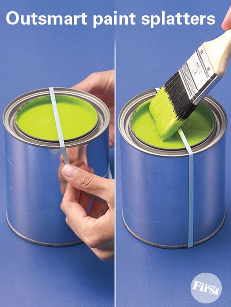 Genius Trick for Mess-Free Painting   First for Women