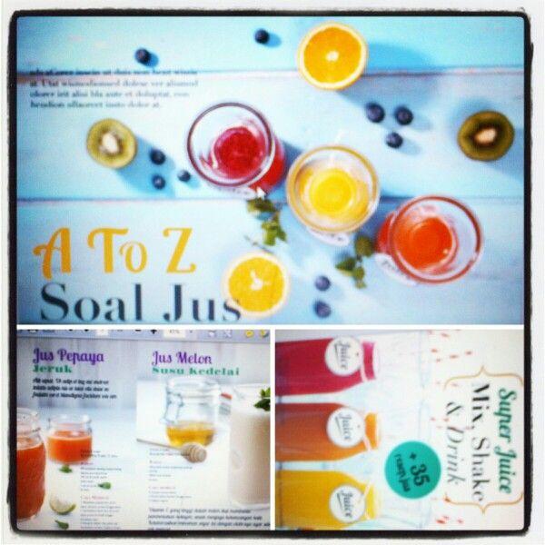 "#buku ""Perfect Juice, Mix, Shake, & Drink. +35 Resep Jus"" #cookingbook"