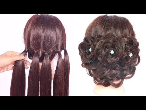 very new hairstyles with trick || hairstyle for thin hair || party hairstyle || …