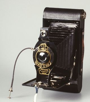 No 3A Folding Autographic Brownie