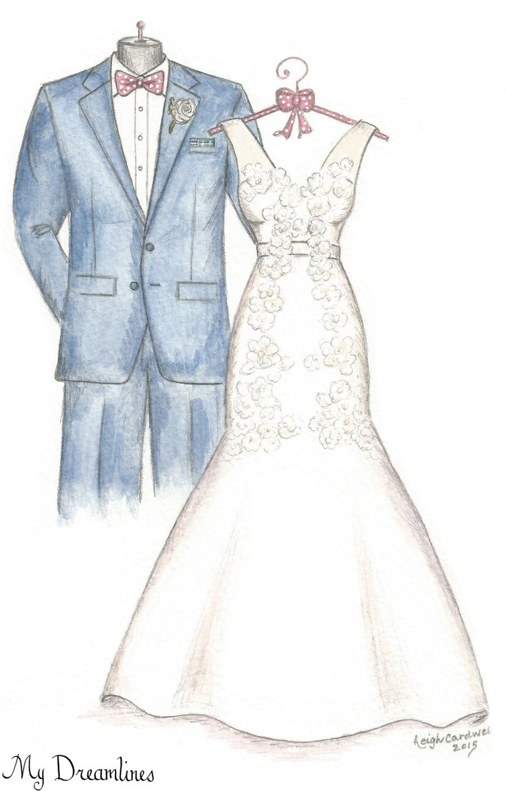 A Dreamlines artist creates wedding gifts to the bride from the groom, anniversary gifts, Christmas gifts and bridal shower gifts. Click here to see more www.MyDreamlines.com
