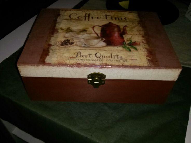 Coffee/tea box