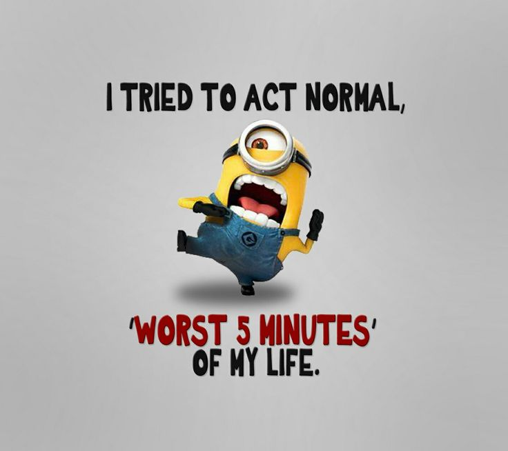 You can't help but love the minion's!