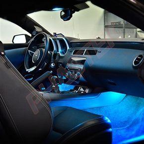2010, 2011, 2012, 2013 Camaro SS & V6 ABL Ambient Lighting Kit (LED) - Aqua