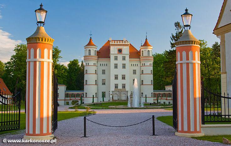 Palac Wojanow, Jelenia Gora, Lower Silesia, Poland.