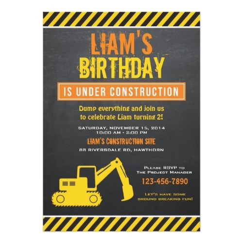 240 best Truck Birthday Party Invitations images on Pinterest - best of birthday invitation text message