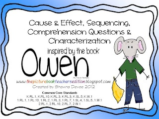 The Picture Book Teacher's Edition: Owen by Kevin Henkes