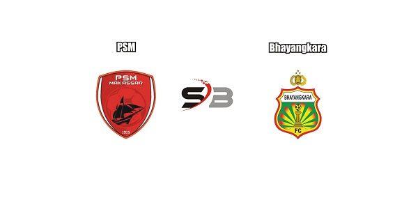 Prediksi bola PSM vs Bhayangkaradalam lanjutan Liga 1 Indonesia yang diadakan di Stadion Andi Mattalatta, Makassar. Dimana pertemuan kedua klub berbeda dan pertandingan akan berlangsung semakin panas dan sengit.    Dalam lanjutan Liga 1 Indonesia nanti, sang tuan rumah PSMakan menjamu tamu nya Bhayangkara. Bermain di depan pendukung nya, PSM ingin memetik kemenangan dan sekaligus mengamankan posisi