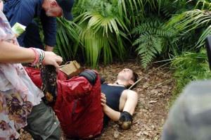 Dschungelcamp 2013: Joey hat Kreislauf.
